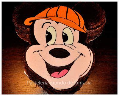 PASTELERIA MUNDO DE FANTASIA: Pastel con la cara de Mickey