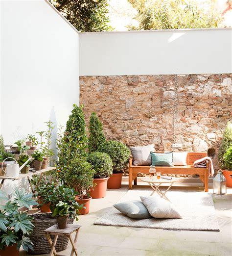 Patios y terrazas: oasis de paz y tranquilidad sin salir ...