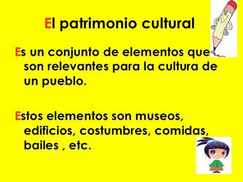 Patrimonios culturales 2° basico