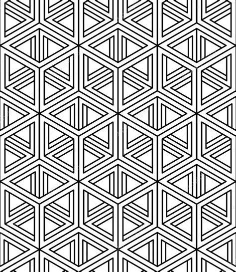 patrón con figuras geométricas 3d — Vector de stock ...