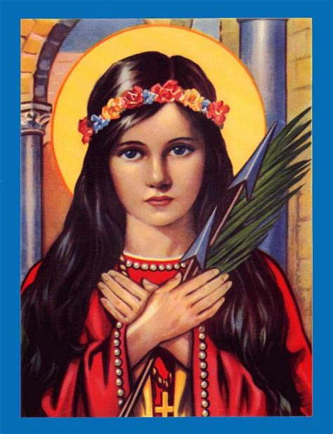 Patron Saints of Young Girls and Women