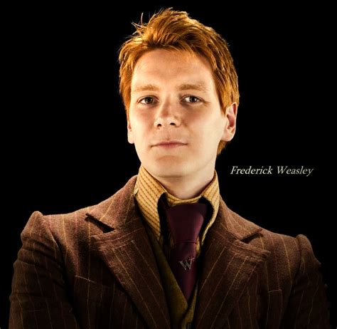 Patrono: ORIGEM DOS NOMES: Fred Weasley