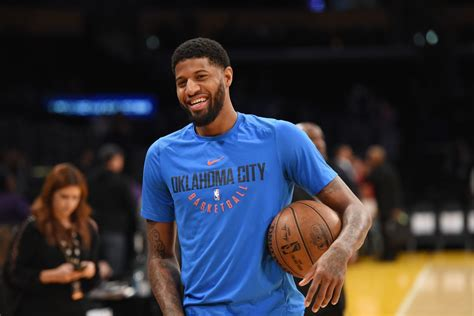 Paul George can't stop flirting with the Lakers   SBNation.com