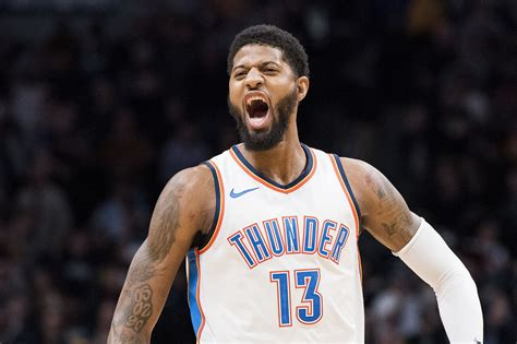 Paul George s chances of re signing with OKC Thunder ...
