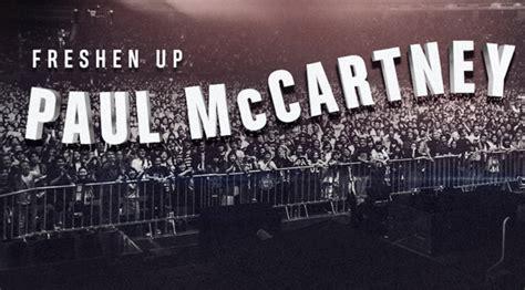 Paul McCartney Adds Las Vegas Show to Freshen Up Tour