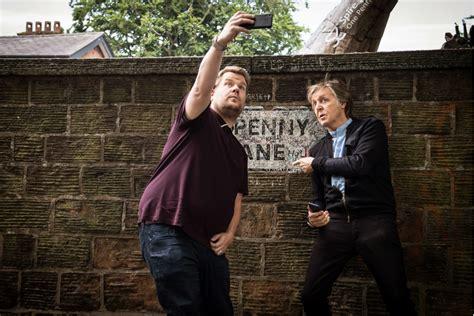 Paul McCartney And James Corden Take An Emotional Trip ...