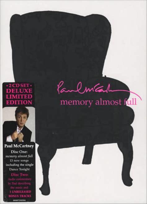 Paul McCartney and Wings Memory Almost Full UK 2 CD album ...