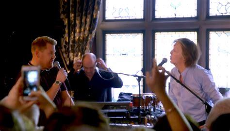 Paul McCartney bei Carpool Karaoke: Making Of und Reaktionen