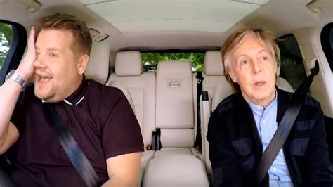 Paul McCartney Does Carpool Karaoke | 102.1 the Edge