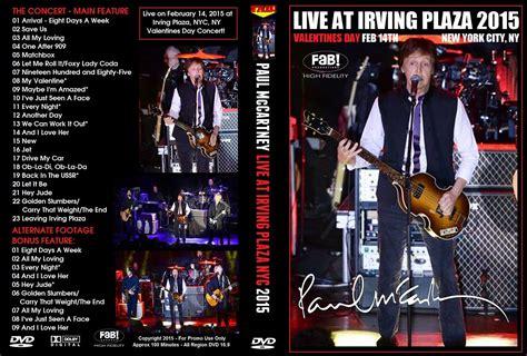 Paul McCartney (Dvd) Live At Irving Plaza 2015