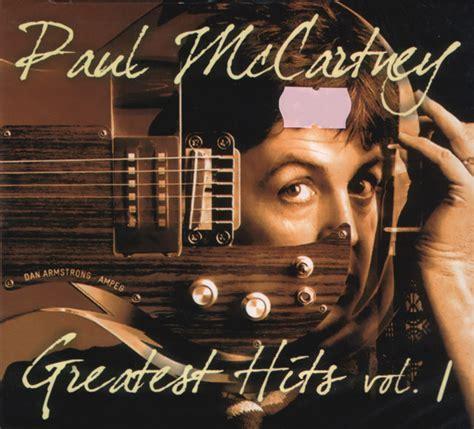 Paul McCartney - Greatest Hits Vol. 1 (CD, Compilation ...