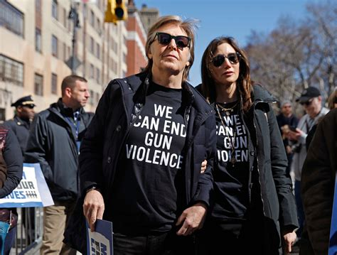 Paul McCartney Honors John Lennon at March For Our Lives ...