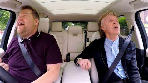 Paul McCartney Joins James Corden in Carpool Karaoke ...