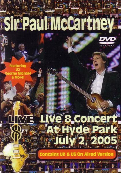 Paul McCartney / Live 8 Concert 2005 / 1DVDR – GiGinJapan