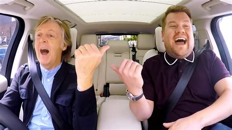 Paul McCartney Makes James Corden Emotional in 'Carpool ...