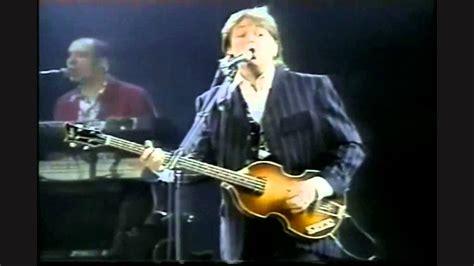 Paul McCartney mexico 1993   YouTube