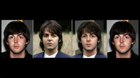 Paul McCartney Photo Comparison 1965   1969   YouTube