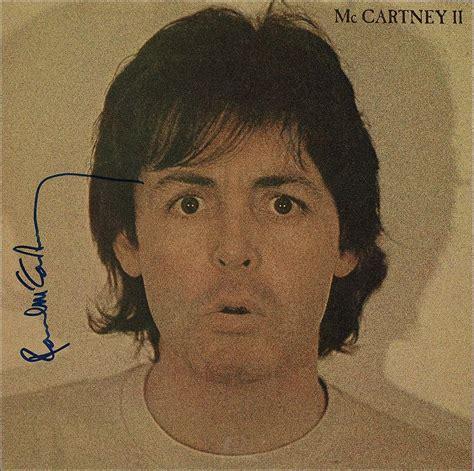 Paul McCartney Signed Album