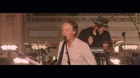 Paul McCartney 'Who Cares'  Live from Grand Central ...