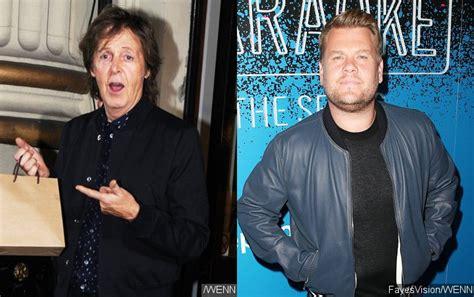 Paul McCartney to Appear on James Corden's Carpool Karaoke