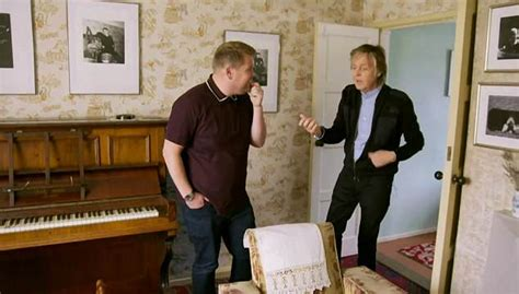 Paul McCartney visits his childhood home and former haunts ...
