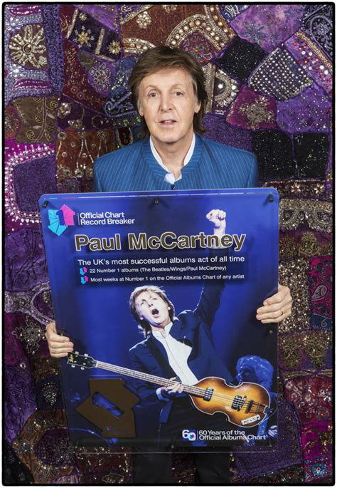 Paul named the UK's most successful albums act of all time ...
