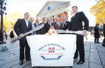 Paul W. Marks Co. Honored on Its 60th Anniversary ...