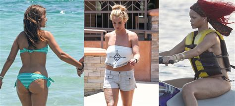 Paula Echevarría, Rihanna o Britney Spears: famosas con ...