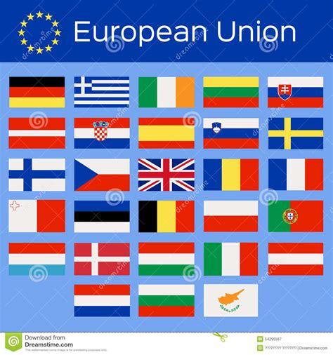 Pays De L Union Européenne Illustration de Vecteur   Image ...