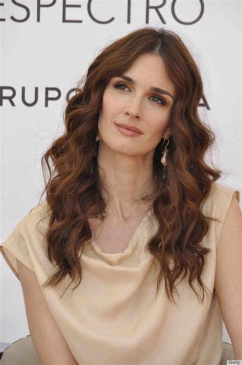 Paz Vega Ditches Her Fresh Look And Goes Goth At Fashion ...