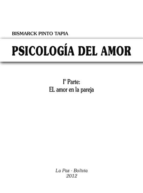 PDF  Psicología del amor