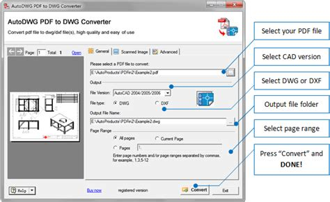 PDF to DWG Converter, convert PDF to DWG file   Apps Downloads
