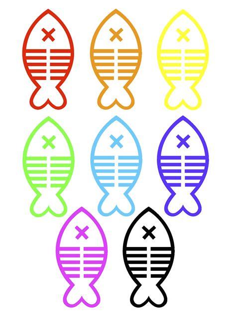 Peces de colores para imprimir   Imagui