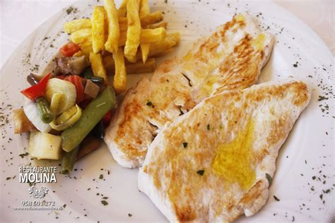 pechuga pollo plancha restaurante molina 03   Restaurante ...