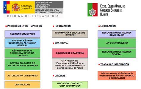 Pedir cita previa de extranjería en Alicante ...