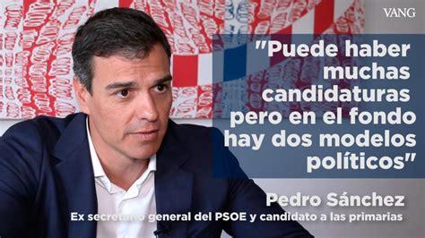 Pedro Sánchez:  Catalunya es una nación, y España una ...