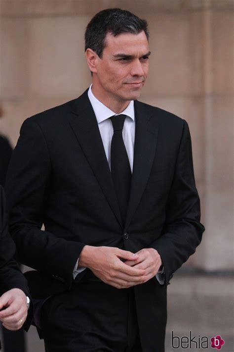 Pedro Sánchez en el funeral institucional por las víctimas ...