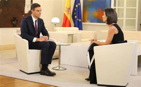 Pedro Sánchez: «No tuve un trato de favor cuando defendí ...