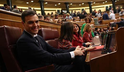 Pedro Sánchez, nuevo presidente del Gobierno tras salir ...