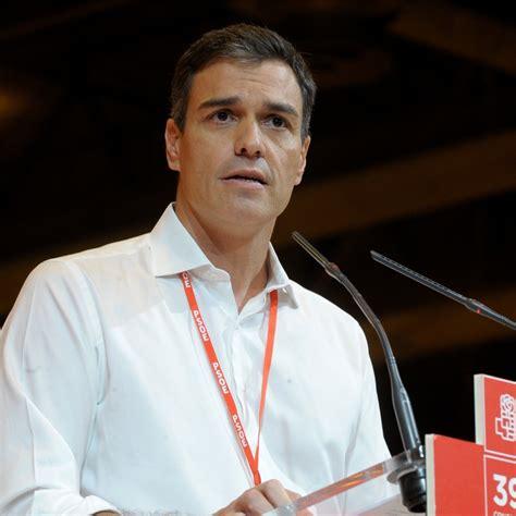Pedro Sánchez Pérez Castejón   PSOE