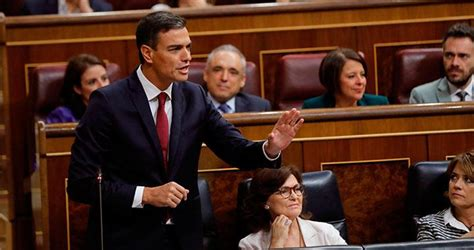 "Pedro Sánchez: ""Montón ha elegido la ejemplaridad"