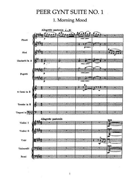 Peer Gynt Suite No.1, Op.46 (Grieg, Edvard) - IMSLP ...