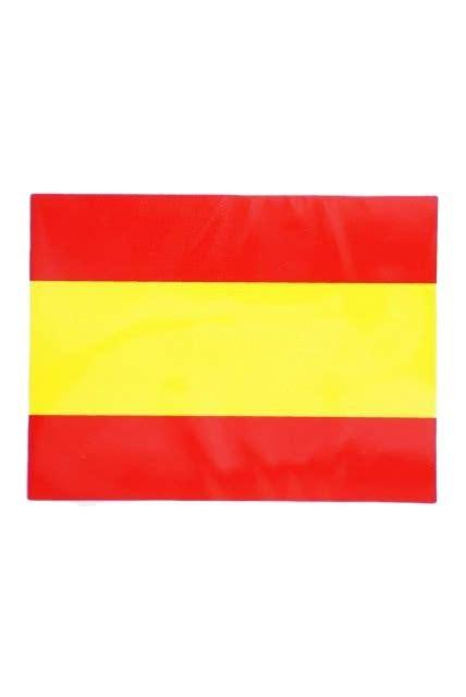 Pegatina Pequeña plana de la Bandera de España sin Escudo