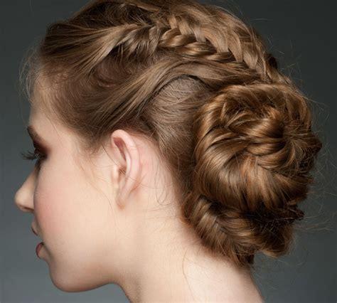 Peinados con trenzas elegantes   Peinadoscon.com