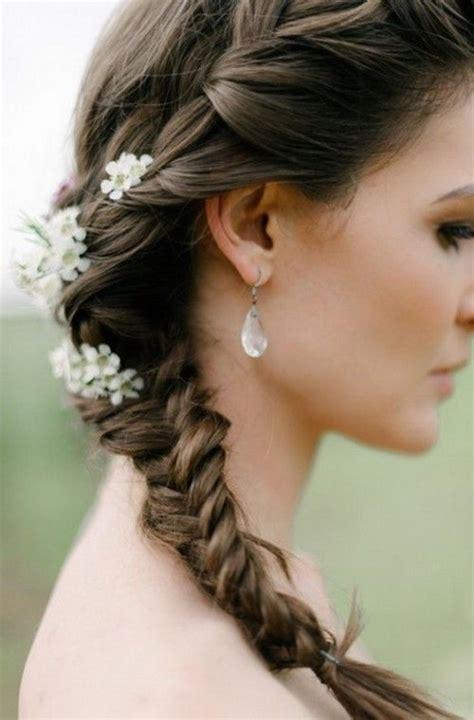 Peinados con trenzas para una boda
