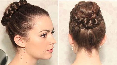 Peinados Con Trenzas Recogidos : Elegantes Y Sencillos De ...