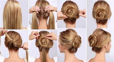 peinados faciles paso a paso para pelo largo