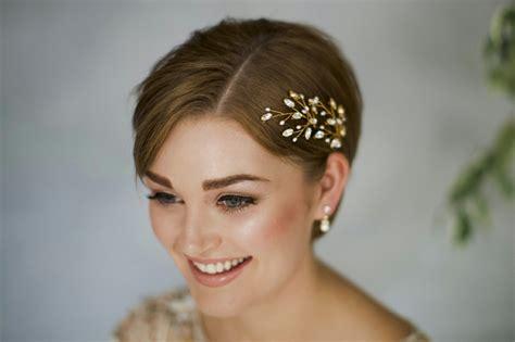 Peinados para bodas pelo corto e ideas para decorar el ...