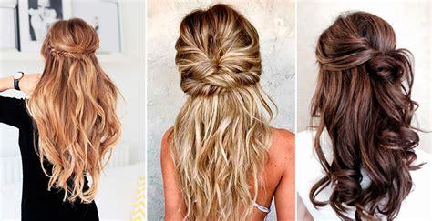 Peinados para pelo largo para la invitada perfecta