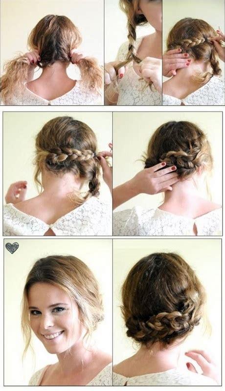 Peinados recogidos con poco cabello